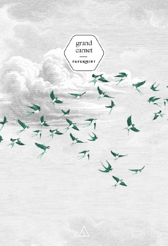 GRAND CARNET - PAPERMINT SWALLOW CLOUD VERT