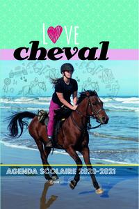 AGENDAS SCOLAIRES : LOVE CHEVAL
