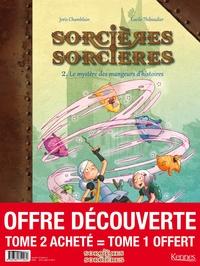SORCIERES SORCIERES EN BD - SORCIERES SORCIERES BD - PACK T02 ACHETE = T01 OFFERT