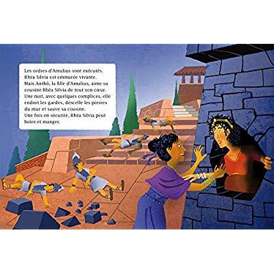 MA PREMIERE MYTHOLOGIE - T14 - MA PREMIERE MYTHOLOGIE - REMUS ET ROMULUS, LES FILS DE LA LOUVE CP/CE