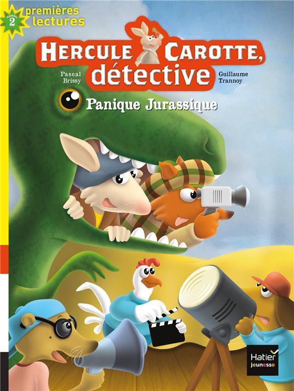 Hercule carotte, detective - t09 - hercule carotte - panique jurassique cp/ce1 6/7 ans