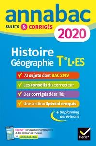 ANNALES ANNABAC 2020 HISTOIRE-GEOGRAPHIE TLE L, ES