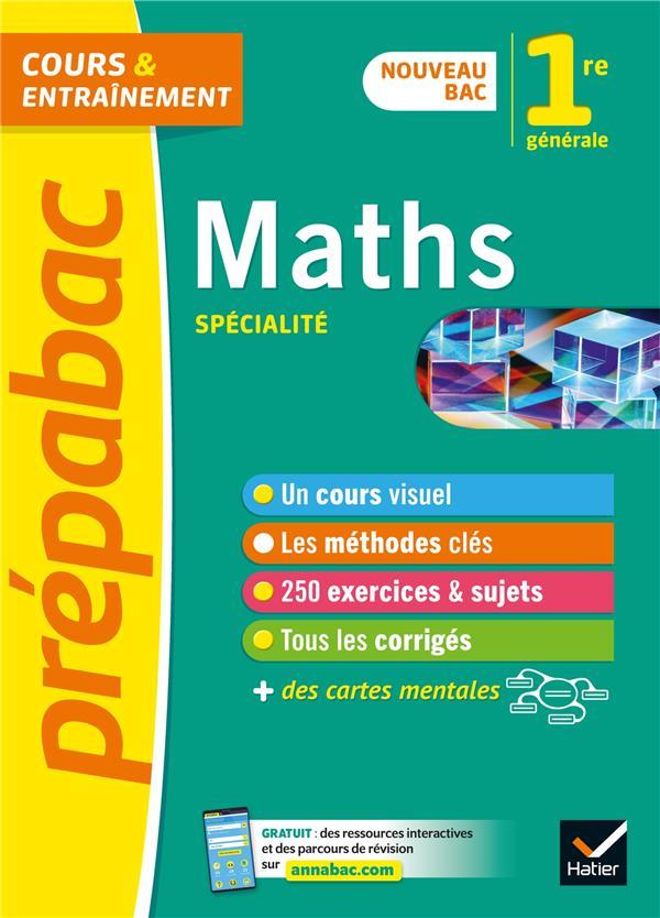 Maths 1re generale (specialite) - prepabac - nouveau programme de premiere (2020-2021)