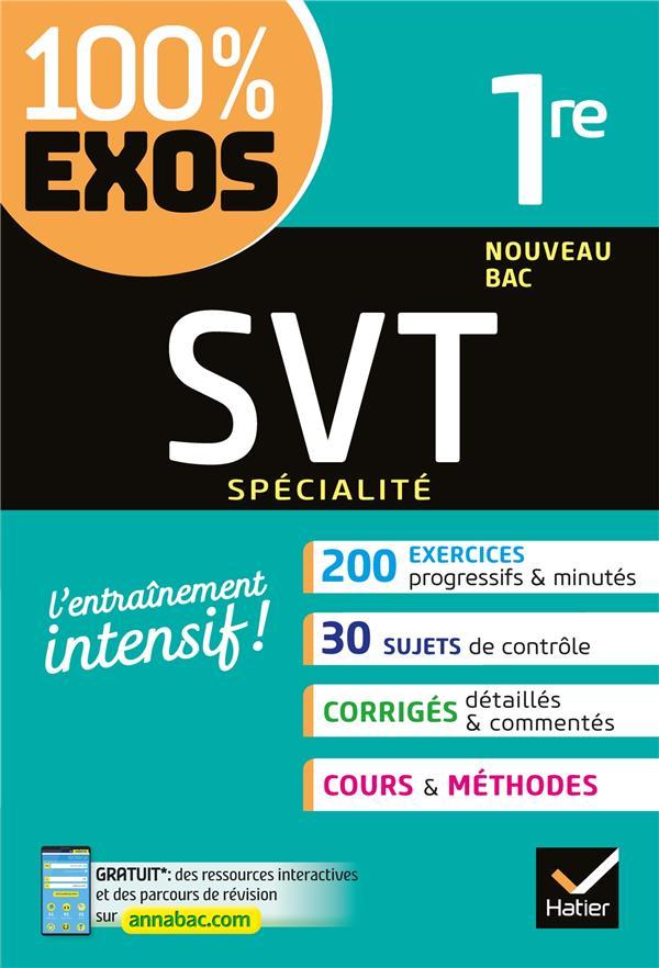 Svt (specialite) 1re - exercices resolus (sciences de la vie et de la terre) - premiere