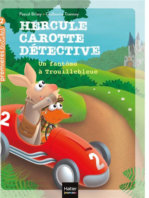 Hercule carotte, detective - t08 - hercule carotte - un fantome a trouillebleue cp/ce1 6/7 ans