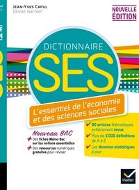 DICO SES - DICTIONNAIRE D'ECONOMIE ET DE SCIENCES SOCIALES - ED. 2020