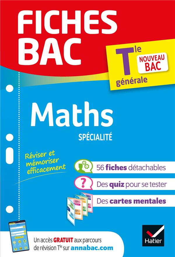 Fiches bac maths tle (specialite)