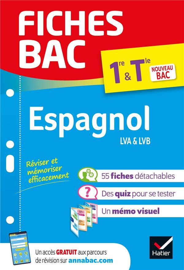 Fiches bac espagnol 1re/tle  - bac 2022 - nouveau programme