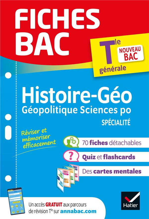 Fiches bac hggsp tle (specialite)