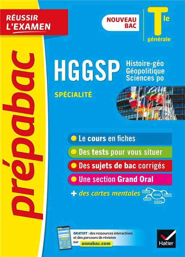 Hggsp tle generale (specialite) - prepabac reussir l'examen - nouveau programme, nouveau bac (2020-2