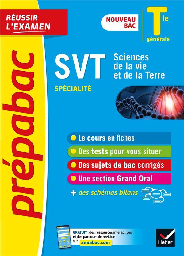 Svt tle generale (specialite) - prepabac reussir l'examen - nouveau programme, nouveau bac (2020-202