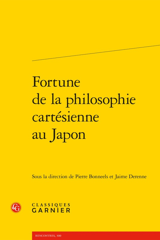 FORTUNE DE LA PHILOSOPHIE CARTESIENNE AU JAPON