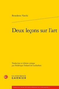 DEUX LECONS SUR L'ART