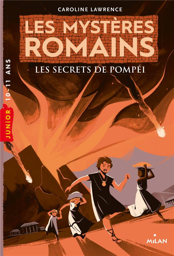 Les mysteres romains, tome 02 - les secrets de pompei