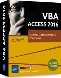 VBA ACCESS 2016 : MAITRISEZ LA PROGRAMMATION SOUS ACCESS : COFFRET 2 LIVRES