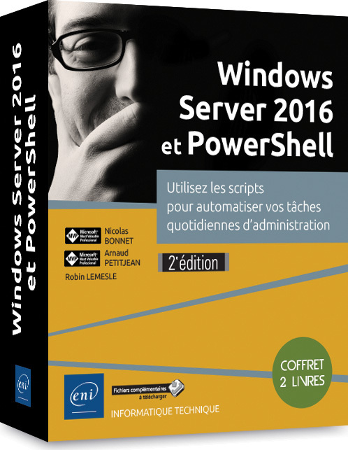 WINDOWS SERVER 2016 ET POWERSHELL, WINDOWS SERVER 2016
