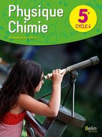 PHYSIQUE CHIMIE 5E LIVRE DE L'ELEVE