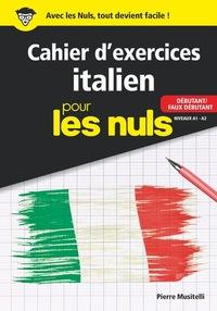 CAHIER D EXERCICES ITALIEN DEBUTANT POUR LES NULS