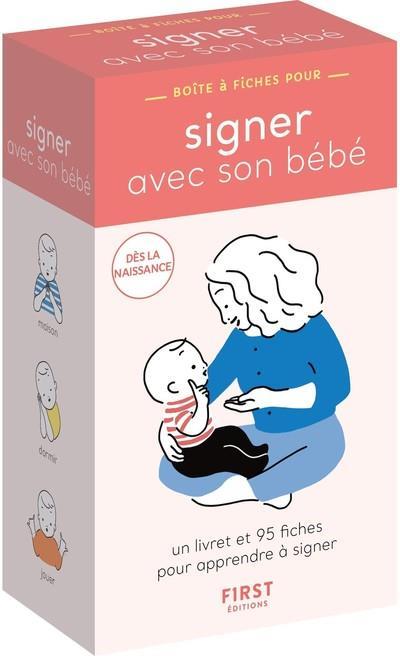 Boite a fiches signer avec son bebe