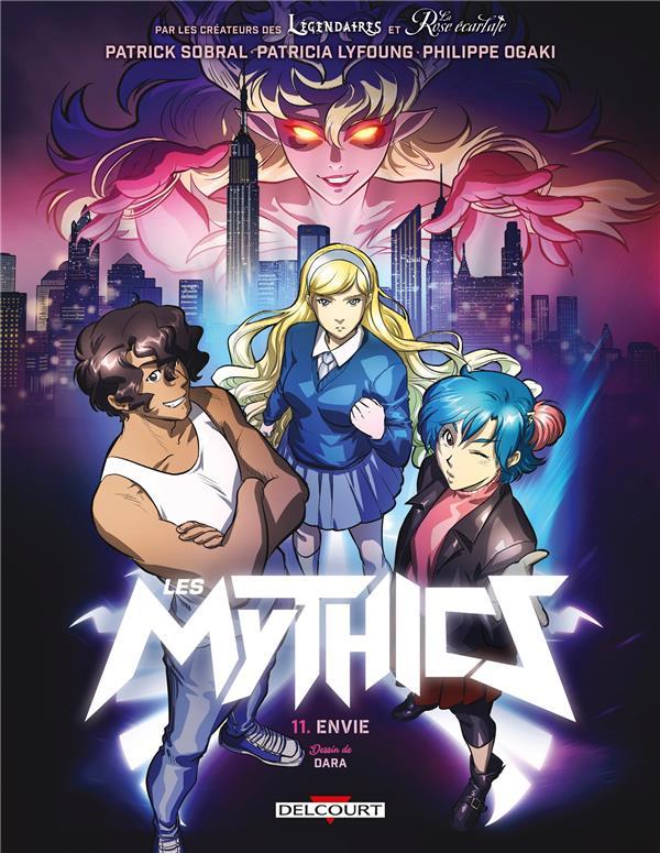 Les mythics t11 - luxure