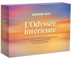 L'ODYSSEE INTERIEURE - 70 CARTES ORACLE ET LE LIVRE D'ACCOMPAGNEMENT POUR UNE IMMERSION TOTALE AU CO