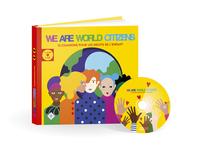 WE ARE WORLD CITIZENS (1 LIVRE/1 CD)