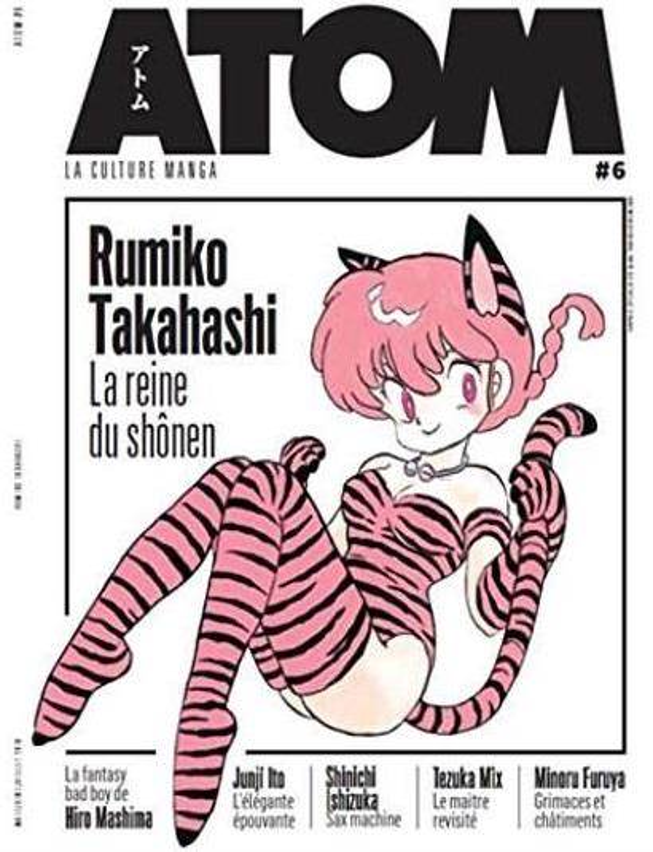 ATOM 06 RUMIKO TAKAHASHI LA REINE DU SHONEN