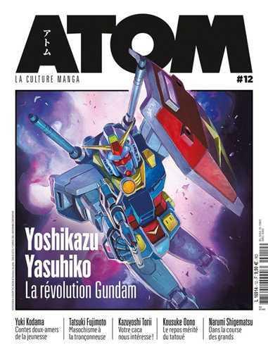 ATOM 12 YOSHIKAZU YASUHIKO, LA REVOLUTION GUNDAM