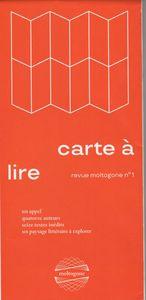 CARTE A LIRE - REVUE MOLTOGONE 1