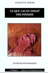 CE QUE LACAN DISAIT DES FEMMES