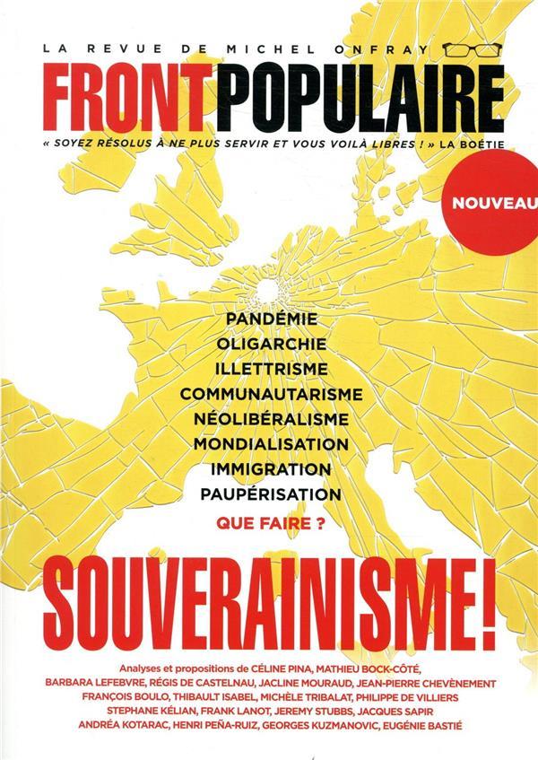 Front populaire - numero 1 souverainisme ! - vol01