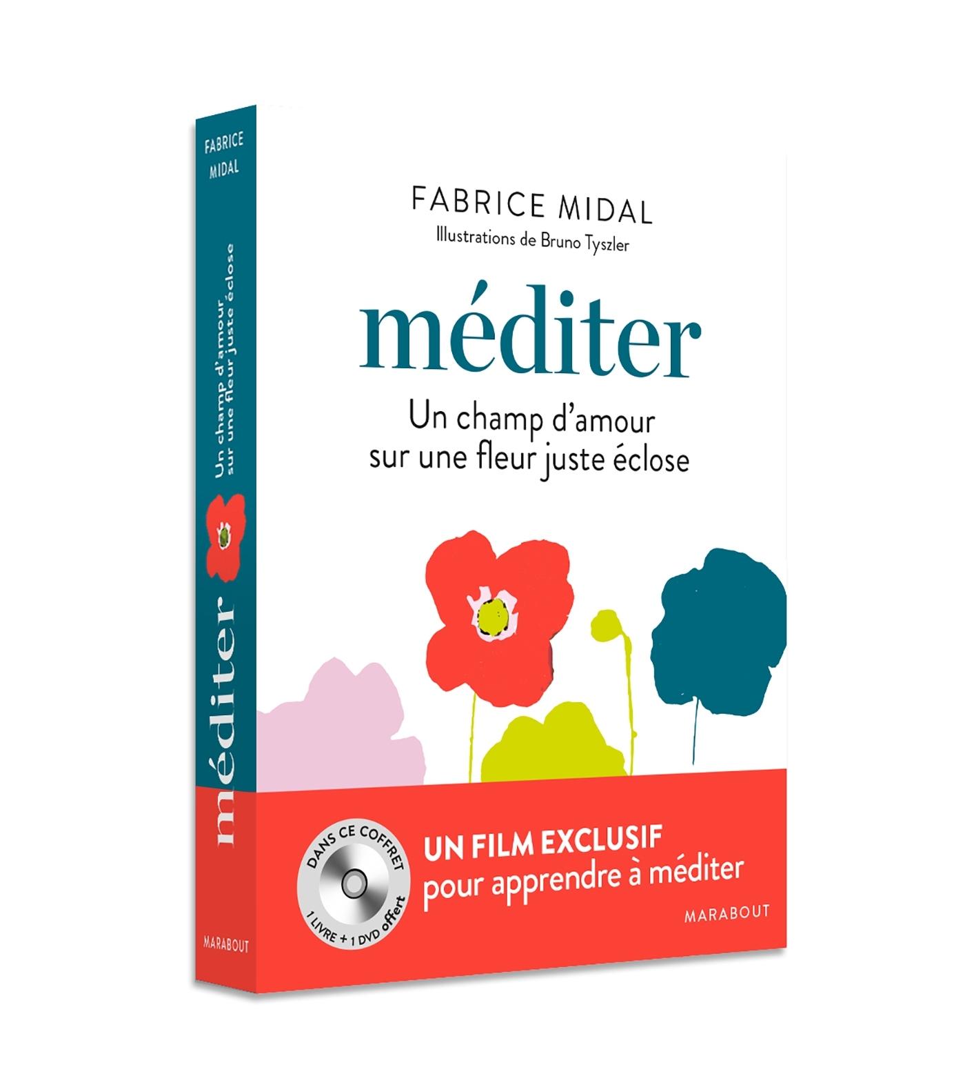 COFFRET MEDITER+ DVD - UN CHANT D'AMOUR SUR UNE FLEUR JUSTE ECLOSE