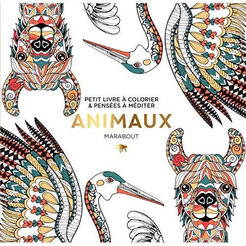 Le petit livre du coloriage animaux