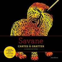 LIVRES A GRATTER : SAVANES