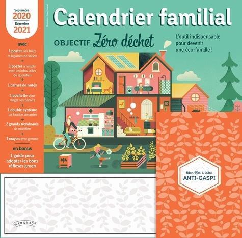 Calendrier familial objectif zero dechet 2020-2021