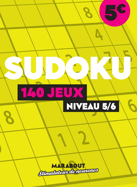 SUDOKU - 140 JEUX NIVEAU 4/5