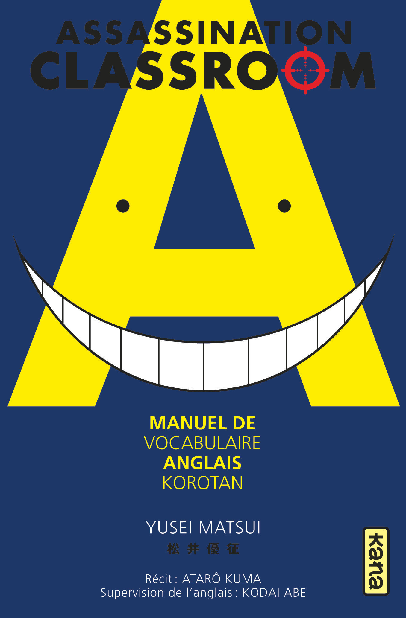KOROTAN-ASSASSINATION CLASSROOM - MANUEL ANGLAIS
