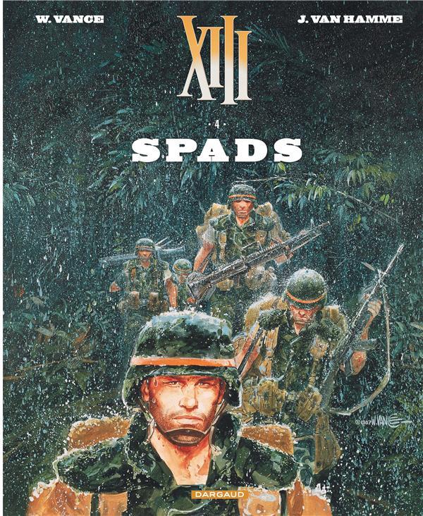 Xiii  - tome 4 - spads (nouveau format)
