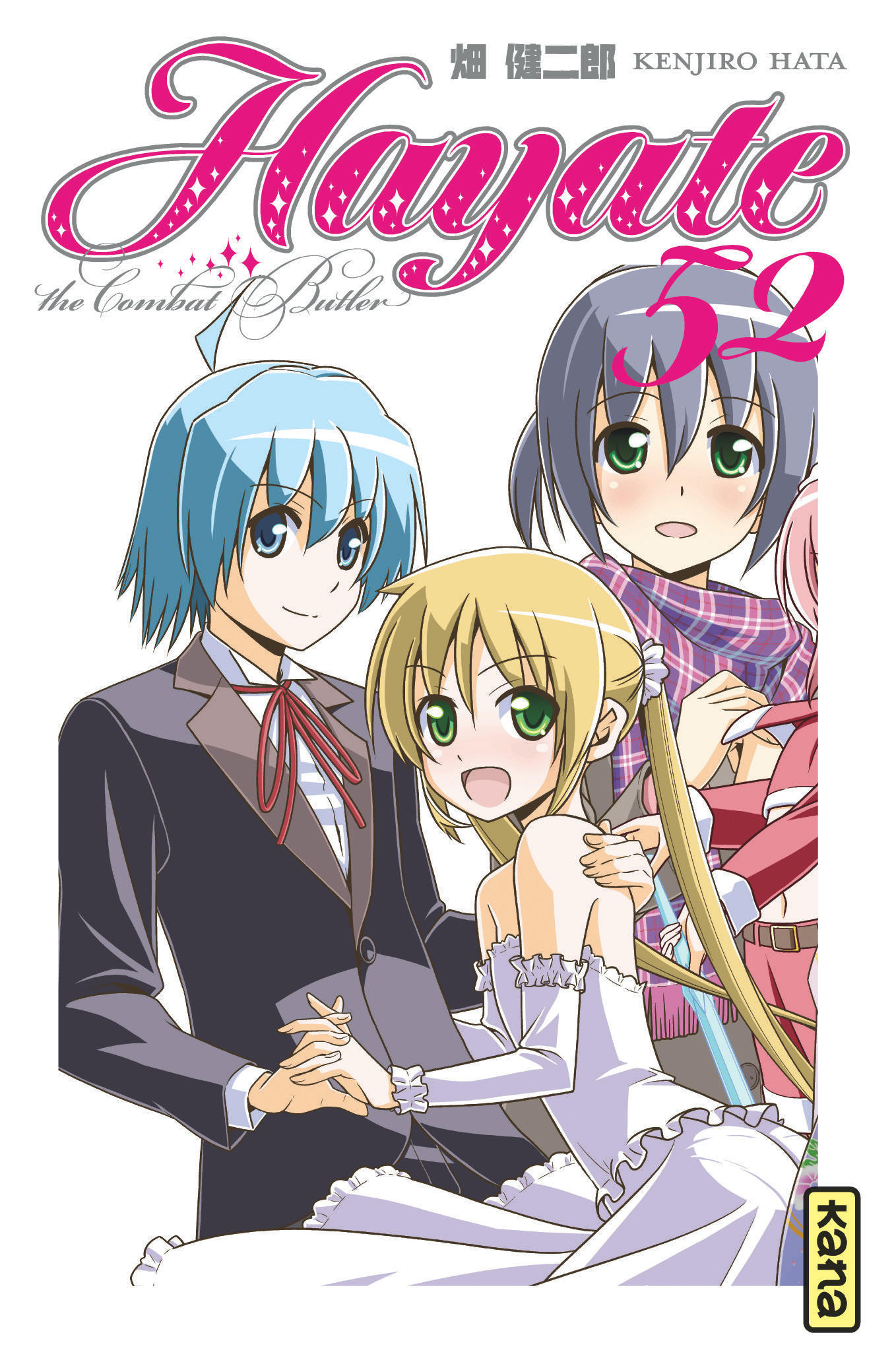 HAYATE THE COMBAT BUTLER - TOME 52