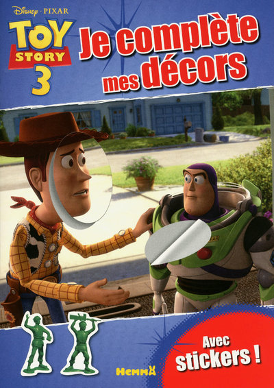 TOY STORY 3 - JE COMPLETE MES DECORS AVEC STICKERS