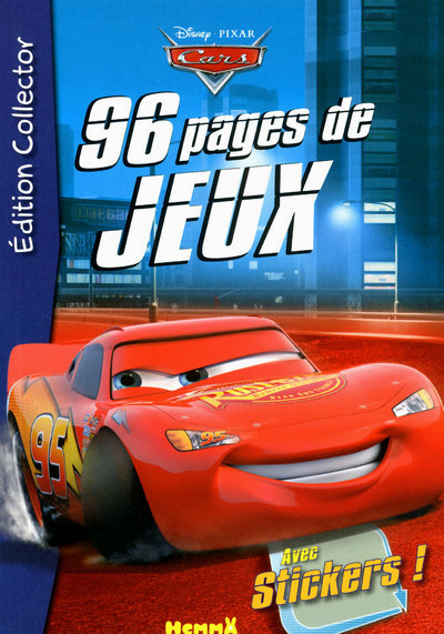 96P JEUX CARS COLLECTOR