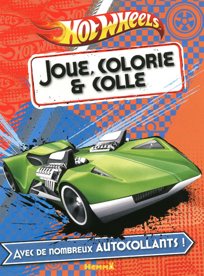 JOUE COLLE COLORIE HOT WHEELS