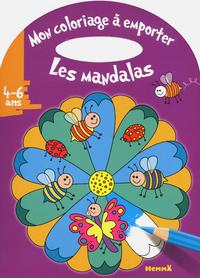 MON COLORIAGE A EMPORTER (4-6 ANS) LES MANDALAS