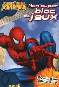SPIDER-MAN MON SUPER BLOC DE J