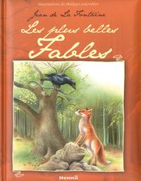 JEAN DE LA FONTAINE LES PLUS BELLES FABLES (LE CORBEAU ET LE RENARD)