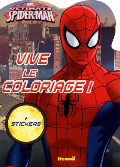 MARVEL ULTIMATE SPIDER-MAN VIVE LE COLORIAGE !