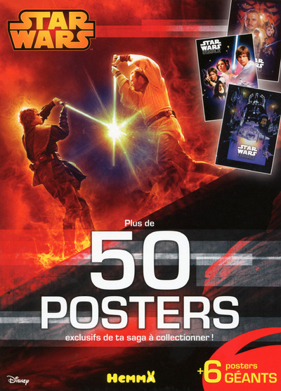 DISNEY STAR WARS PLUS DE 50 POSTERS