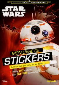 DISNEY STAR WARS VOYAGE VERS L'EPISODE VII MON LIVRE DE STICKERS (DROIDES)