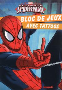 MARVEL ULTIMATE SPIDER-MAN BLOC DE JEUX AVEC TATTOOS