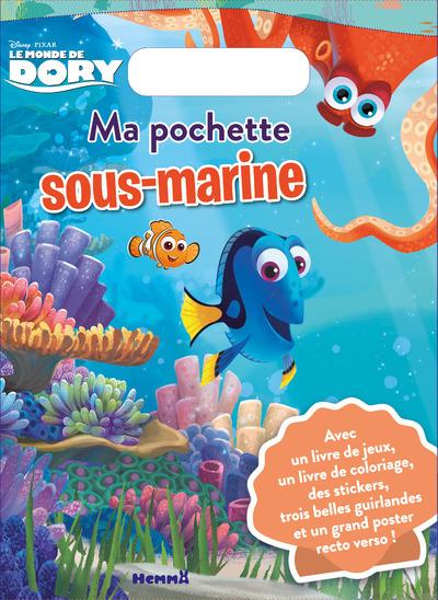 LE MONDE DE DORY MA POCHETTE SOUS-MARINE